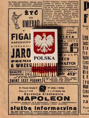 Poland Polska  Polish Poster