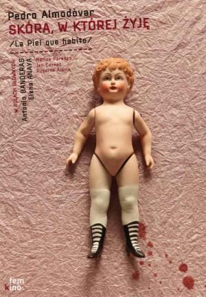Skin I Live In Pedro Almodovar  Polish Poster