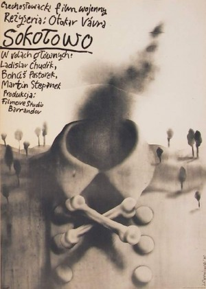 Sokolowo Otakar Vavra Jerzy Czerniawski Polish movie poster