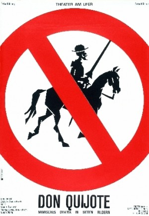 Don Quijote Lex Drewinski Polish theater poster