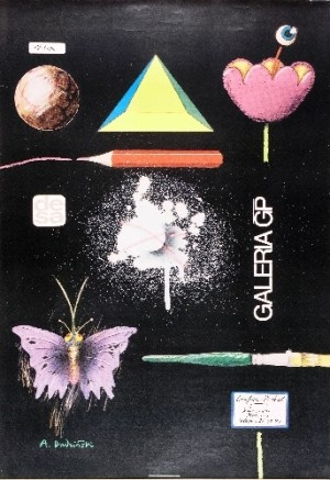 DESA Gallery GP Andrzej Dudziński Polish exhibition poster
