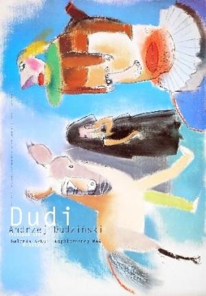 Dudi Gallery BWA Olsztyn Andrzej Dudziński Polish exhibition poster