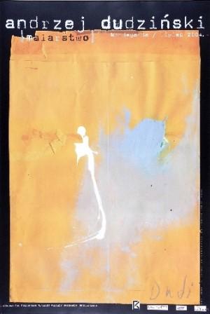 Andrzej Dudziński 2004 Andrzej Dudziński Polish exhibition poster