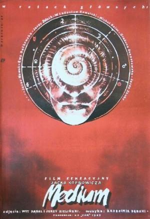 Medium Jacek Koprowicz Witold Dybowski Polish movie poster