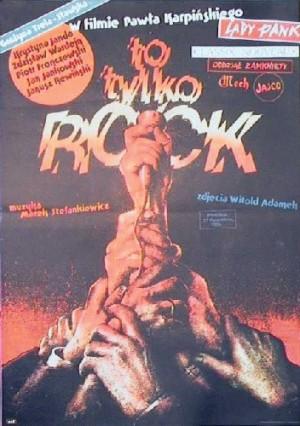 It s Only Rock Paweł Karpiński Witold Dybowski Polish movie poster