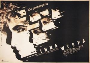Other Island Grażyna Kędzieżawska Witold Dybowski Polish movie poster