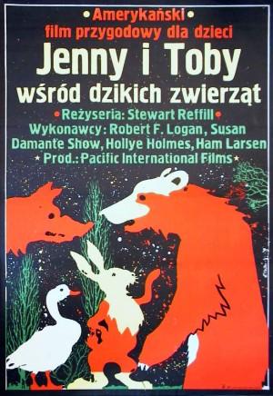 Adventures of the Wilderness Family Jakub Erol Polish movie poster