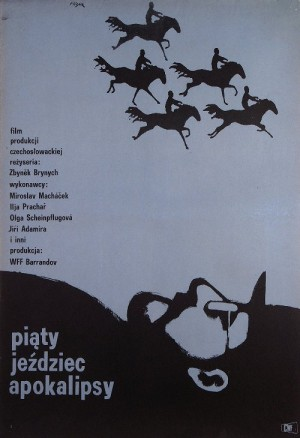 And the Fifth Horseman Is Fear Jerzy Flisak Polish movie poster