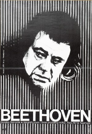 Beethoven-Days in a Life Horst Seemann Wiktor Górka Polish Poster