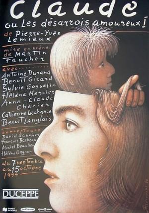 Claude Mieczysław Górowski Polish theater poster