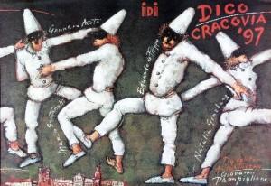 Dico-Cracovia 97 Mieczysław Górowski Polish theater poster