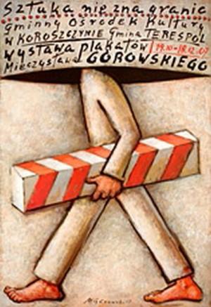 Art knows no borders in Koroszczyn  Mieczysław Górowski Polish exhibition poster