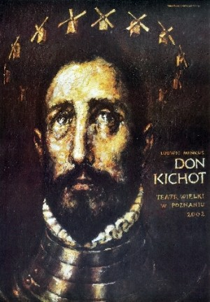 Don Quixote Wiesław Grzegorczyk Polish Poster
