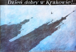 Good Morning in Cracow! Wiesław Grzegorczyk Polish Poster