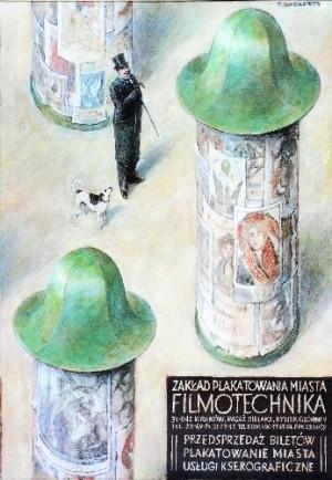 Filmotechnika Wiesław Grzegorczyk Polish Poster