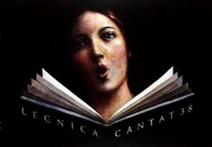 Legnica Cantat 38th Wiesław Grzegorczyk Polish Poster