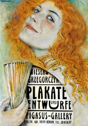 Posters and Pojects Wiesław Grzegorczyk Wiesław Grzegorczyk Polish exhibition poster