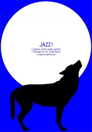 Jazz! Polish Jazz Posters Małgorzata Gurowska Polish music poster