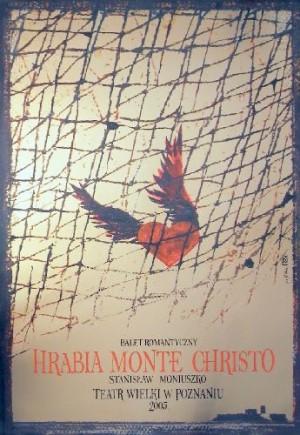 Count of Monte Cristo Ryszard Kaja Polish opera poster