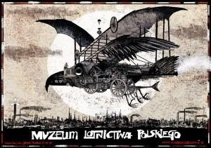 Aviation Museum Ryszard Kaja Polish poster art