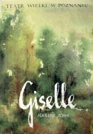 Giselle Adolphe Charles Adam Ryszard Kaja Polish opera poster