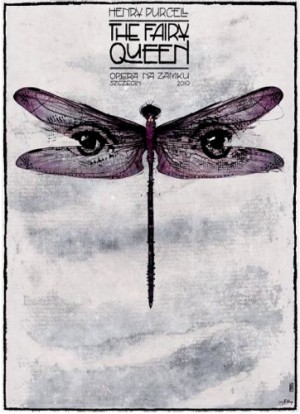 Fairy Queen Henry Purcell Ryszard Kaja Polish opera poster