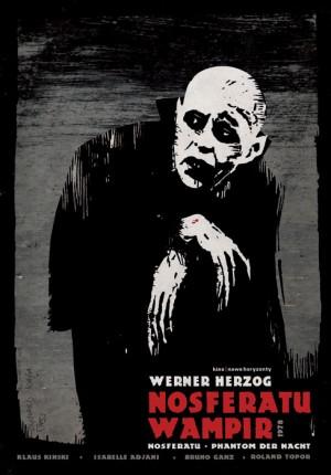 Nosferatu the Vampyre Ryszard Kaja Polish movie poster