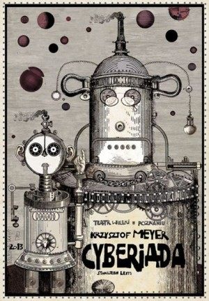 Cyberiad Ryszard Kaja Polish opera poster