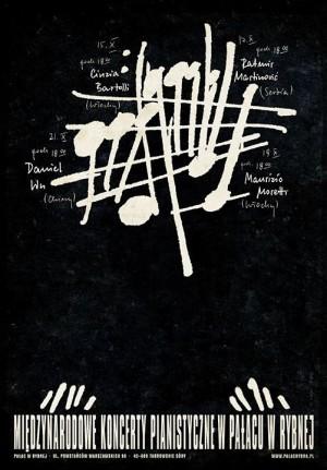 Pianofestival Rybna Ryszard Kaja Polish music poster