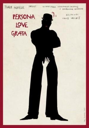 Persona love grata Ryszard Kaja Polish movie poster