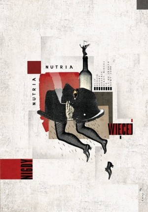 Nutria, Nutria. Never again Ryszard Kaja Polish music poster
