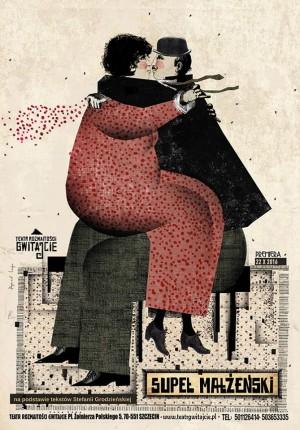Marriage knot Ryszard Kaja Polish Poster