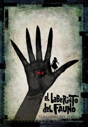 Pans Labyrinth Guillermo del Toro Ryszard Kaja Polish Poster