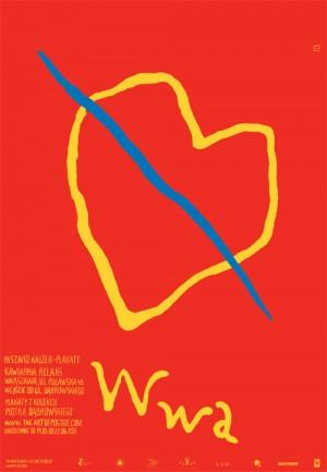 Ryszard Kajzer Posters Kawiarnia Relaks Ryszard Kajzer Polish exhibition poster