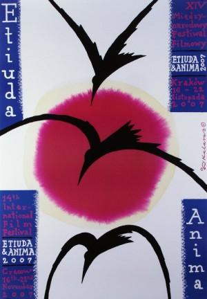 Etiuda Anima 1 Roman Kalarus Polish poster art