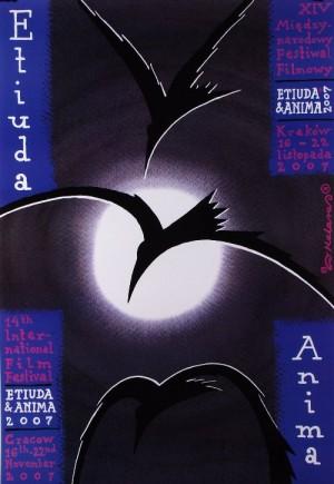 Etiuda Anima 2 Roman Kalarus Polish poster art