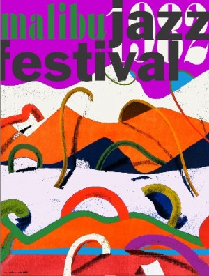 Malibu Jazz Fest Leonard Konopelski Polish music poster