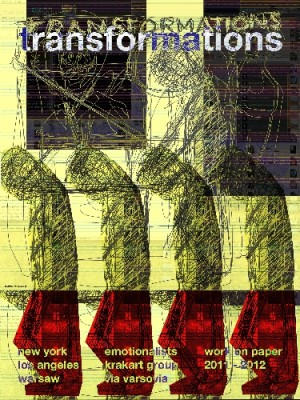 Tranformation Work on Paper Leonard Konopelski Polish poster art