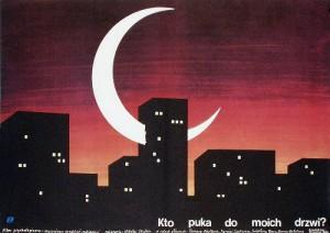 Kto stuchitsya v dver ko mne Andrzej Krzysztoforski Polish Poster