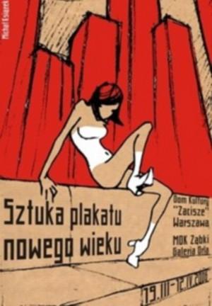 Poster art of the new century Michał Książek Polish exhibition poster