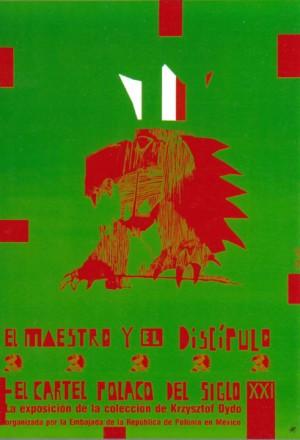 El maestro y el discipulo Sebastian Kubica Polish exhibition poster