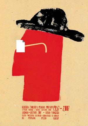 Kultura żydowska w plakacie polskim Sebastian Kubica Polish exhibition poster