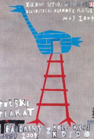 Polish Theatre Poster Sebastian Kubica Polish exhibition poster