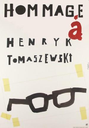 Hommage a Henryk Tomaszewski Sebastian Kubica Polish exhibition poster