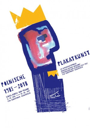 Polish Posters Art Duselsdorf Sebastian Kubica Polish exhibition poster