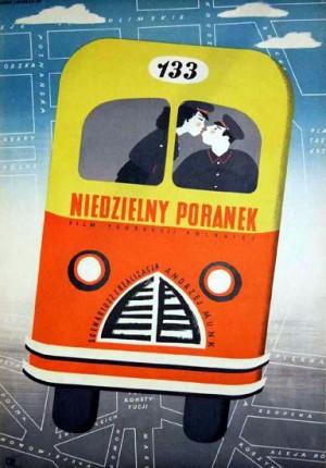 One Sunday Morning Andrzej Munk Eryk Lipiński Polish movie poster