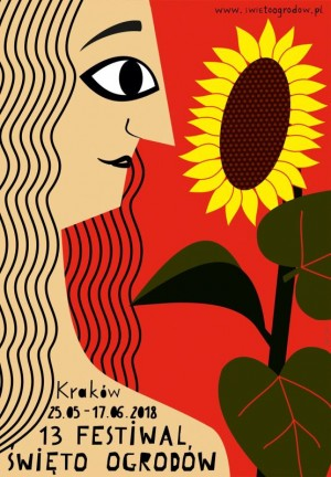 Garden Days 13th  Polish Poster