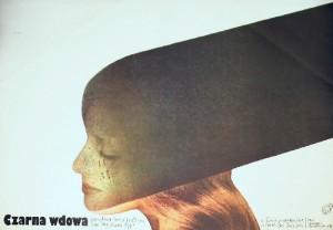 Black Widow Bob Rafelson Lech Majewski Polish movie poster