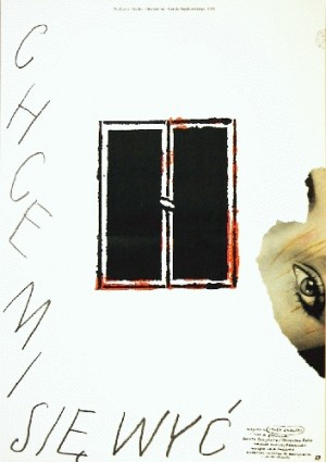 I Want to Scream Jacek Skalski Lech Majewski Polish movie poster