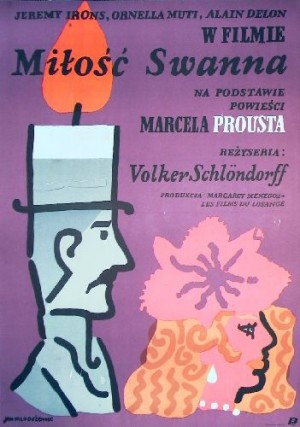 A Love of Swann Volker Schlöndorff Jan Młodożeniec Polish movie poster